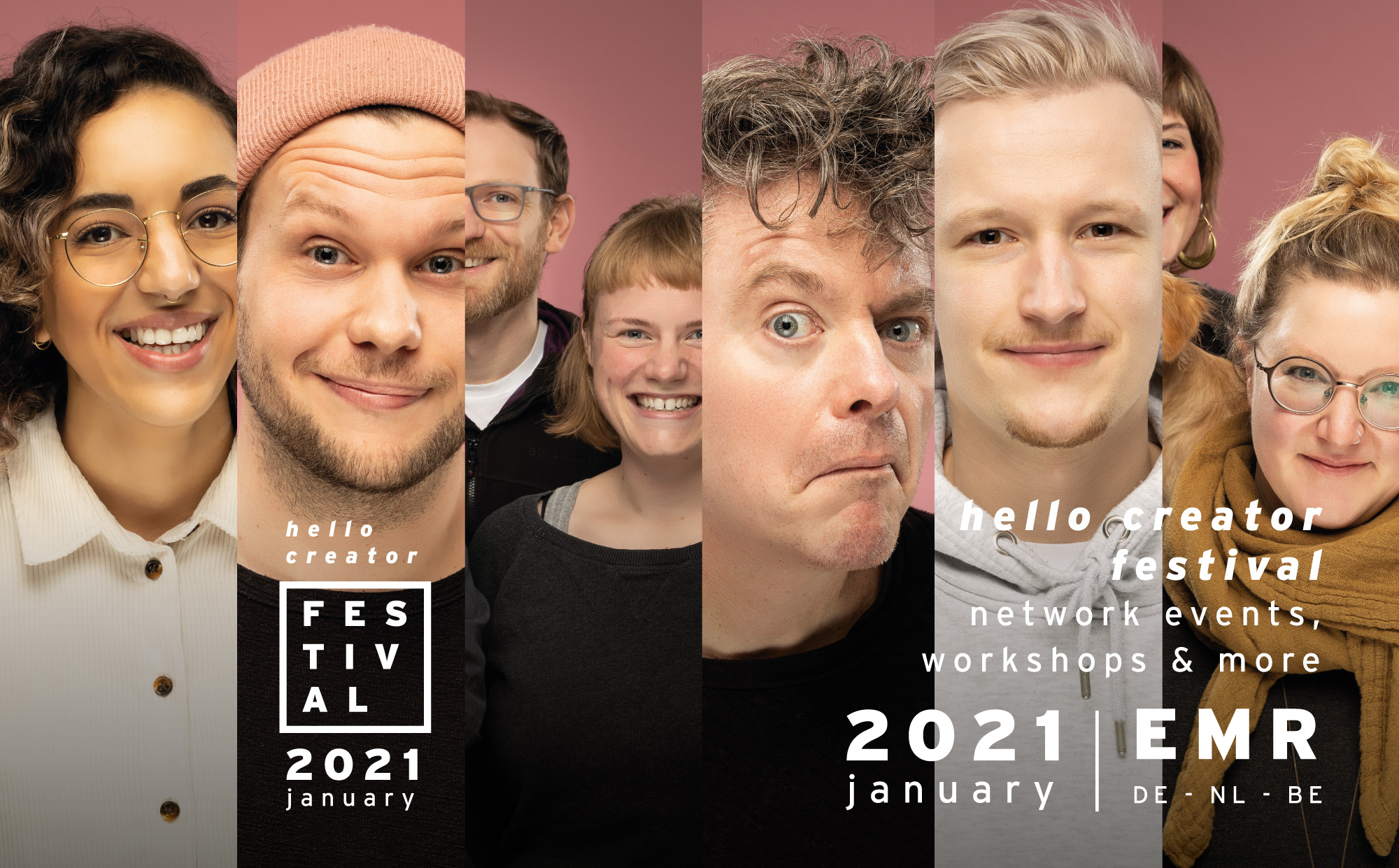 hello creator festival Januar 2021